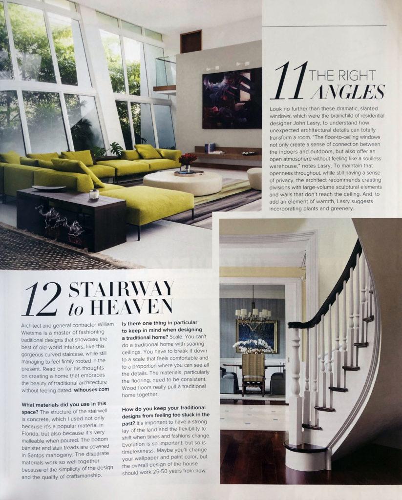 Luxe Interiors Design Gold List 2018